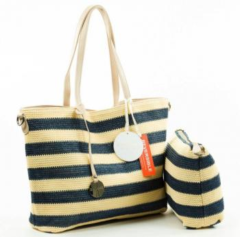 2a35a6532b0 MT Policeman Bag Navy Beige - MijnTas.nl | Buying handbags online ...